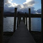 Derwent Jetty by Iain McGillivray