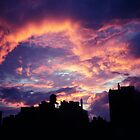 East Village Sunset by magartland