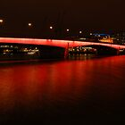 London Bridge at Night by Iain McGillivray