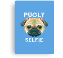 Pugly Selfie Canvas Print
