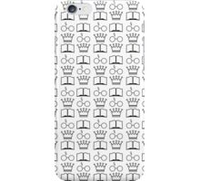 The Golden Trio Pattern iPhone Case/Skin