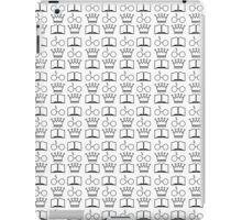 The Golden Trio Pattern iPad Case/Skin