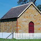 Tomago House Church Circa 1861 by Bev Woodman