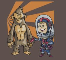 SpaceKid and a Joe...the Brown Furred Snaggletooth by Steven Novak