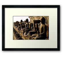Borobodur Framed Print