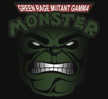 Green Rage Mutant Gamma Monster by jayveezed