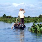Meandering Along on the Tonle Sap in Cambodia by Hannah Nicholas