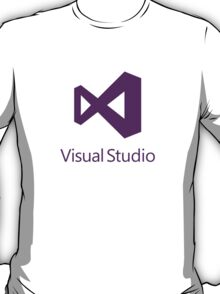 Visual Studio 2012 Logo (Purple) T-Shirt
