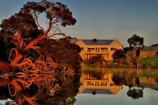 """""""Morning Reflections at The Minya Winery"""" by Phil Thomson IPA"""