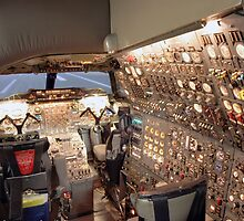 Concorde Flight Engineers panel by Twscats