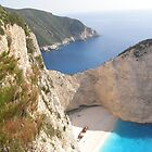 Shipwreck Zante Island Greece by mikequigley
