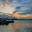 Oban Twilight by RedHillDigital