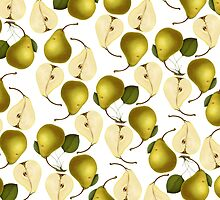 Pear Pattern by heartofhearts