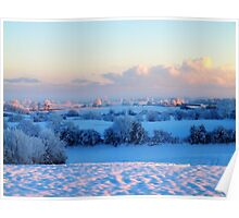 Snowfield Poster
