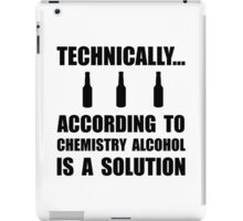 Chemistry Alcohol Solution iPad Case/Skin