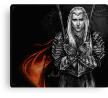 Elven King Canvas Print