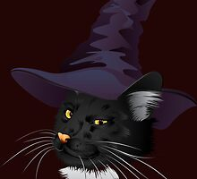 Kitty Witchy by AnnArtshock