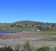 Blayney Wind Farm, NSW by Jan Richardson