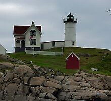 Cape Neddick Lighthouse by Dennis Jones - CameraView