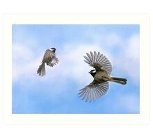 Fly Away With Me - Challenge Winner Art Print