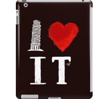I Heart Italy (remix) iPad Case/Skin