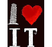 I Heart Italy (remix) Photographic Print