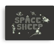 Space Sheep Canvas Print