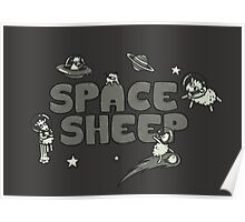 Space Sheep Poster