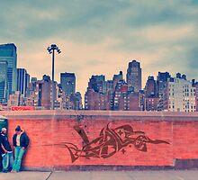 Gritty City NYC by Zohar Lindenbaum