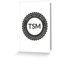 Vintage TSM Boyscout Badge Dark Greeting Card