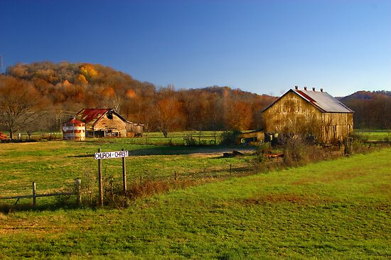 Rural Tennessee in Autumn by Lisa G. Putman