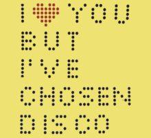 I ♥ you but I've chosen disco Kids Clothes