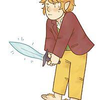 Bilbo Baggins by lomonte