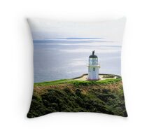 Cape Reinga Lighthouse Throw Pillow