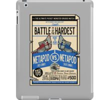 Battle of the Century iPad Case/Skin
