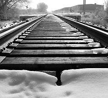 Railroad Winter by Chris Earl