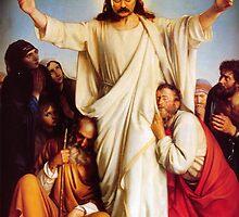 Jesus Ron by bambibones