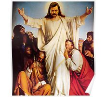 Jesus Ron Poster