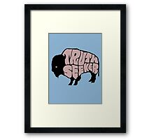 Truthseeker Buffalo Framed Print