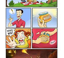 honey on pokemon funny by garyoak89