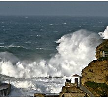 Stormy Seas. by mrcoradour