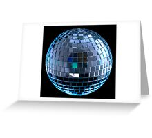 Disco Ball II Greeting Card