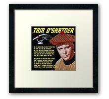 Tam O'Shatner Framed Print