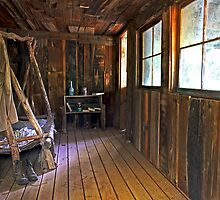 The Cabin by Sue  Cullumber