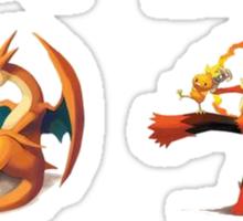 third mega evolutions pokemons Sticker