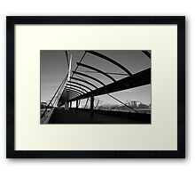 Bells Bridge Framed Print