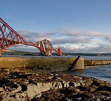 Forth Bridge from North Queensferry by Chris Clark