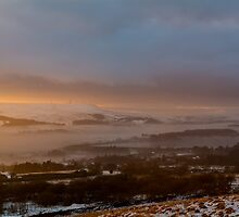 Winter Hill View.  by Dave Staton