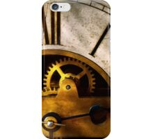 Clockmaker - What time is it iPhone Case/Skin