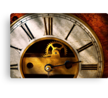 Clockmaker - What time is it Canvas Print